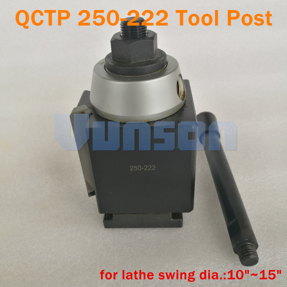 10-15 Inch Lathe BXA Wedge Type Quick Change Tool Post CNC 250-222