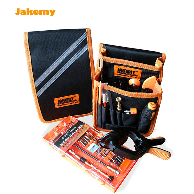 JAKEMY JM-P12 Hand Tool Sets Precision Screwdriver Set+Anti-Static Tweezers+Dismantle Tools Kit Mobile Phone Repair Tool
