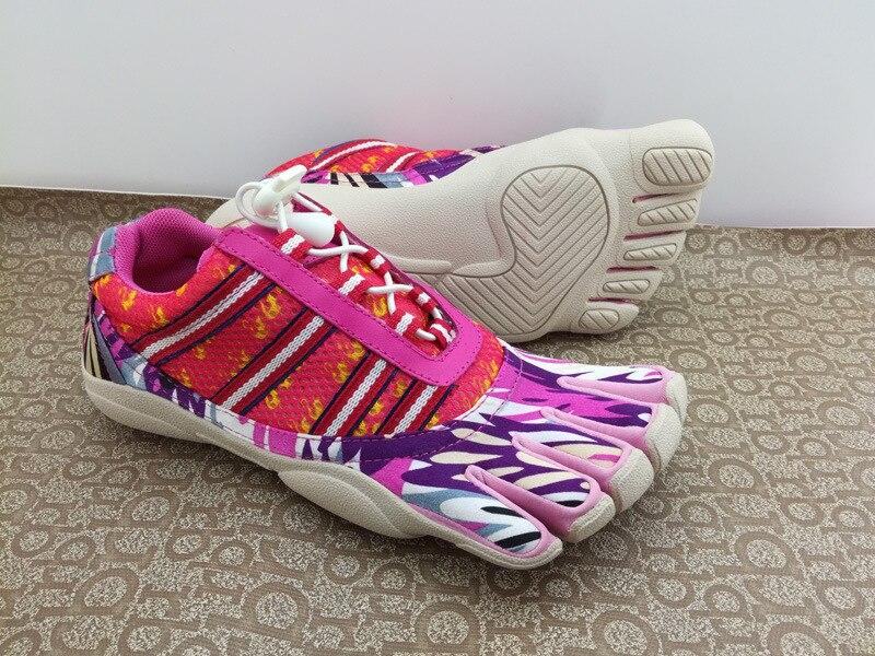 Cinq doigts chaussures anti-dérapant semelle extérieure femmes chaussures de marche en plein air respirant et léger Yoga chaussures GYM plage natation chaussures