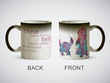 Lilo und Stitch tassen wärme offenbaren wärmeempfindlichen keramiktasse magische tee tassen kaffee mugen transforming magic becher