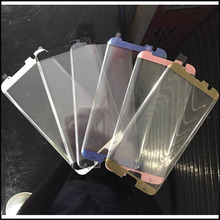 100 Pcs/lot For Samsung S7 Edge 3D Curved 96% half coverage Screen Cover Coverage Tempered Glass Film for Galaxy