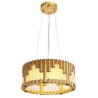 Round design modern chandeliers LED lamp AC110V 220V living room dinning room chandelier suspension lights