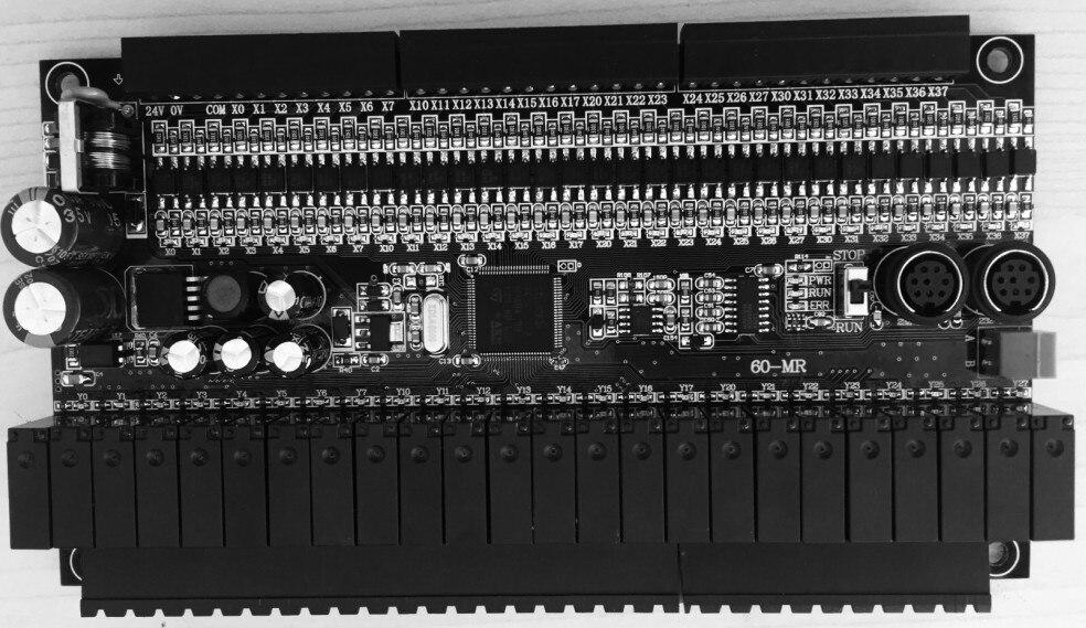 FX1N 60MR plc с модулем 36 Вход 24 Выход RS485 modbus