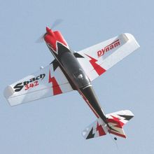 Dynam 1250 мм Sbach 342 RC PNP/ARF модель пропеллера самолета с мотором ESC сервоприводы TH03684