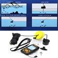 $ Number pies de Cable Portátil Buscador de Los Pescados 100 m Pesca De Profundidad Sonar Sounder Del Transductor de Alarma Fishfinder Sensor