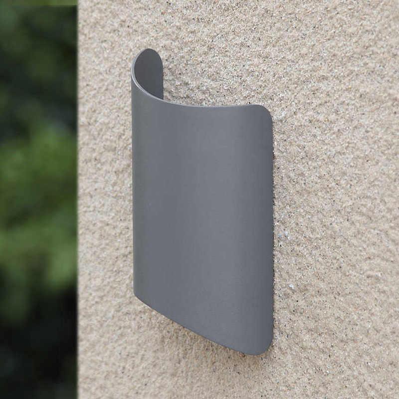 IP54 Водонепроницаемый Открытый Бра черный/серый пыле балкон бра жилой вилла сообщества eclairage exterieur