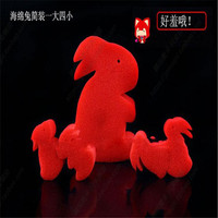 hey funny 1set Funny Magic Sponge Rabbit Magic Tricks Magic Prop Children Education Toys Close-up Magic toy