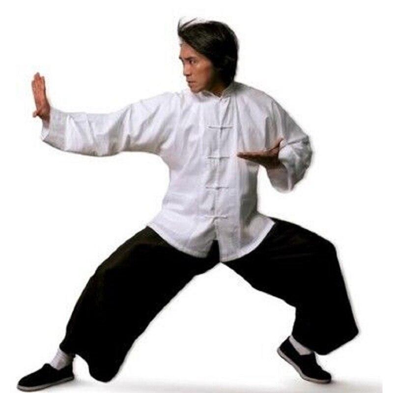 Chinese Traditional  Cotton Tang Uniform Wu Shu Tai Chi   Shaolin Kung Fu Wing Chun Suit Costumes Martial Arts Clothes