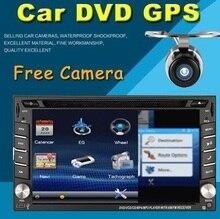 2015 nueva 2 DIN Car DVD Player GPS de Doble Radio Estéreo En Dash 2DIN Unidad Principal de CD MP3 Cámara de aparcamiento HD TV Radio Vídeo Audio