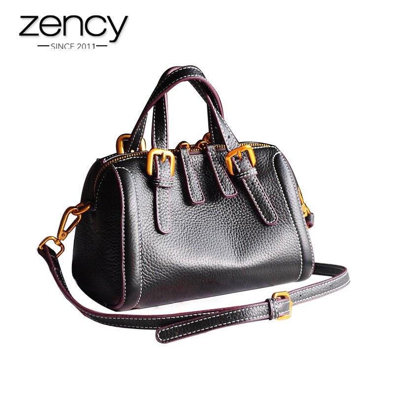 Soft Quality Genuine Leather Women Totes Fashion Handbags Ladies Purses Girl's Small Shoulder Bags High Capacity Crossbody bags