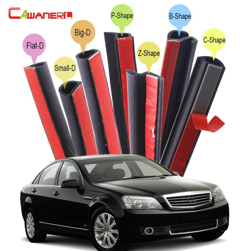 Cawanerl Car Rubber Sealing Seal Strip Kit Noise Insulation Seal Edge Trim Weatherstrip Fit For Daewoo Tico Racer Statesman цена