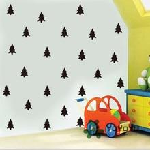 цены на 32 PCS Tree pattern Removable Kids Bedroom Decor Wall Sticker Nursery DIY Wall Decal Home Window Sticker vinilos paredes NY-121  в интернет-магазинах