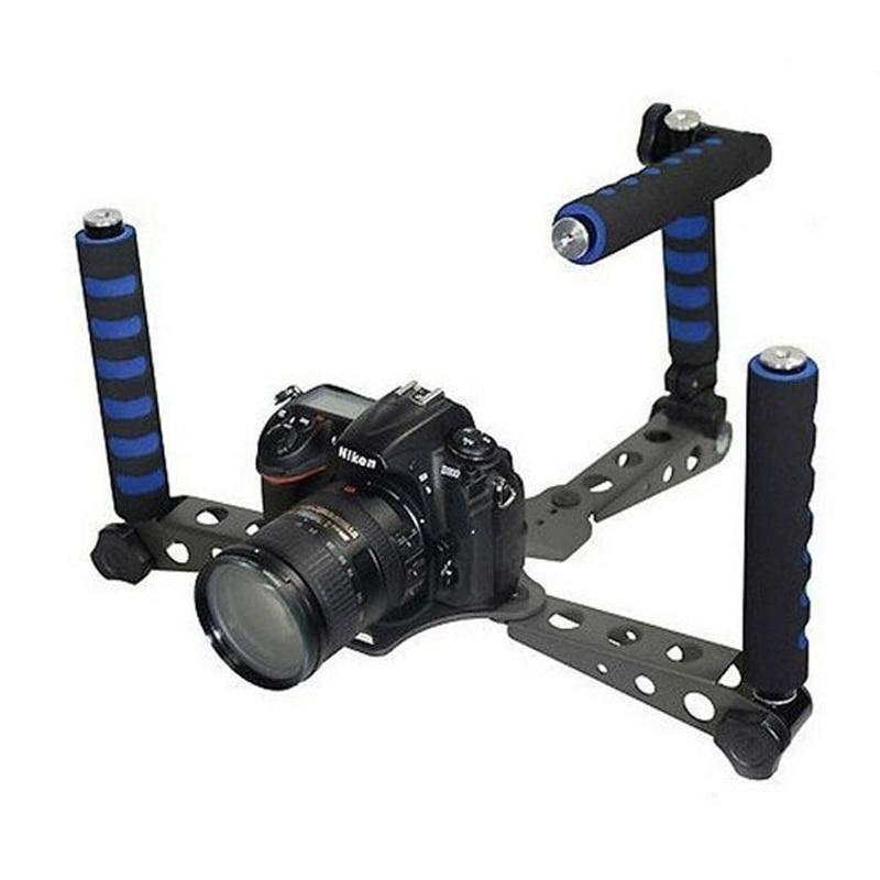 Spider Steady Camera Stabilizer DSLR Rig Shoulder Mount Movie Kit Support for Canon 5DII 7D 550D 600D 60D Nikon D7000 D5100