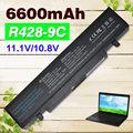 6600 мАч 9 Сотовый аккумулятор для Ноутбука Samsung R540 AA-PB9NC6W AA-PB9NS6B AA-PB9NC5B AA-PB9NC6B R518 R519 R520 R522 R540 R580 R610