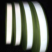 30mm width Fluorescent yellow warning tape for Safety Clothes sewing on