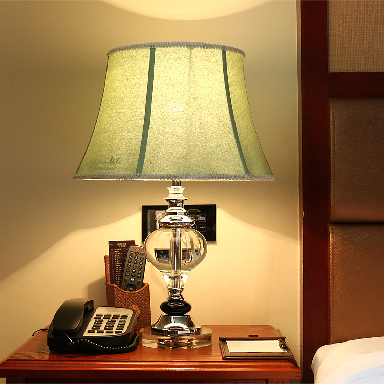 Туда Бесплатная доставка Ретро Стиль классическая настольная лампа Дизайн K9 Cryatal настольная лампа элегантный декор дома E27 110 В- 220 В