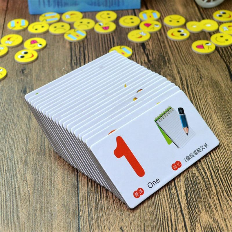 Aprendizagem Cartões do Número de Chineses com