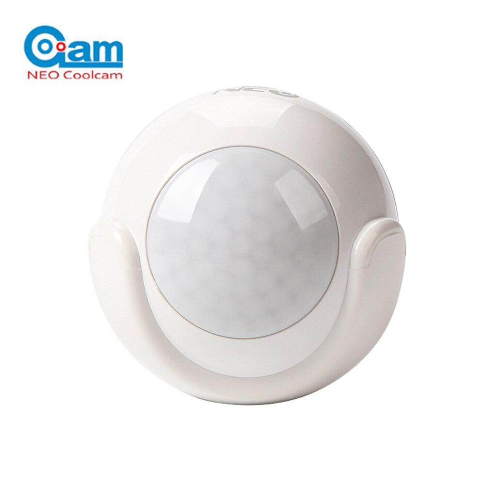 2018 Hot NEO COOLCAM NAS-PD01W PIR Motion Sensor Detector Home Automation Alarm System W ...