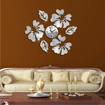 Horloge-reloj de pared de cuarzo, diseño moderno, vintage, grandes, decorativos, para sala...