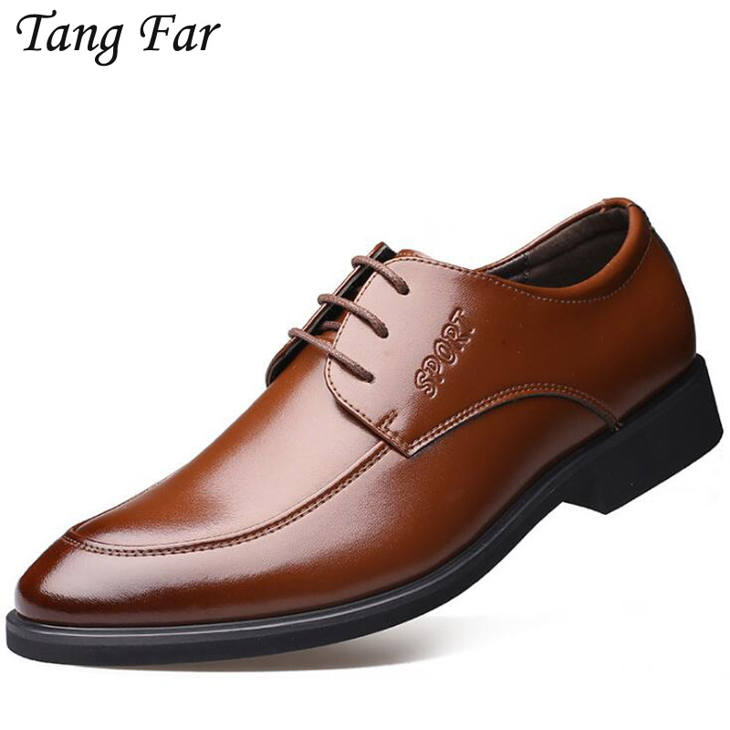 Mens British Style Formal Shoes Quality Minimalist Design Leather Men Dress Shoes Loafers Business Oxfords Wedding Shoes