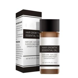 Fast Powerful Hair Growth Essence Products Essential Oil Liquid Treatment Preventing Hair Loss Hair Care 20ml Beard Oil*