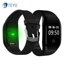 Teyo умный Браслет 608 ч сна монитор сердечного ритма фитнес-трекер калорий напоминание шагомер Smart Band Android IOS