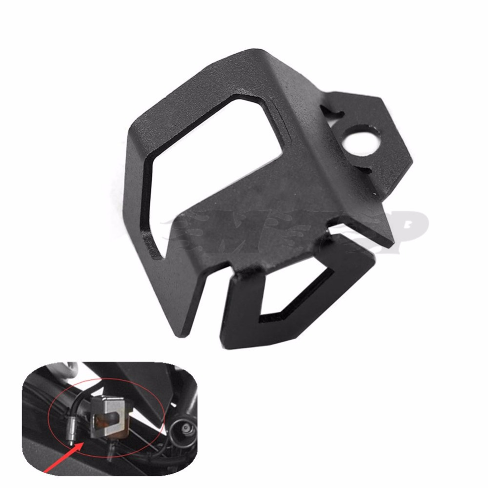 Rear Brake Fluid Reservoir Protector Guard Cover For BMW F800GS Adv F700GS New