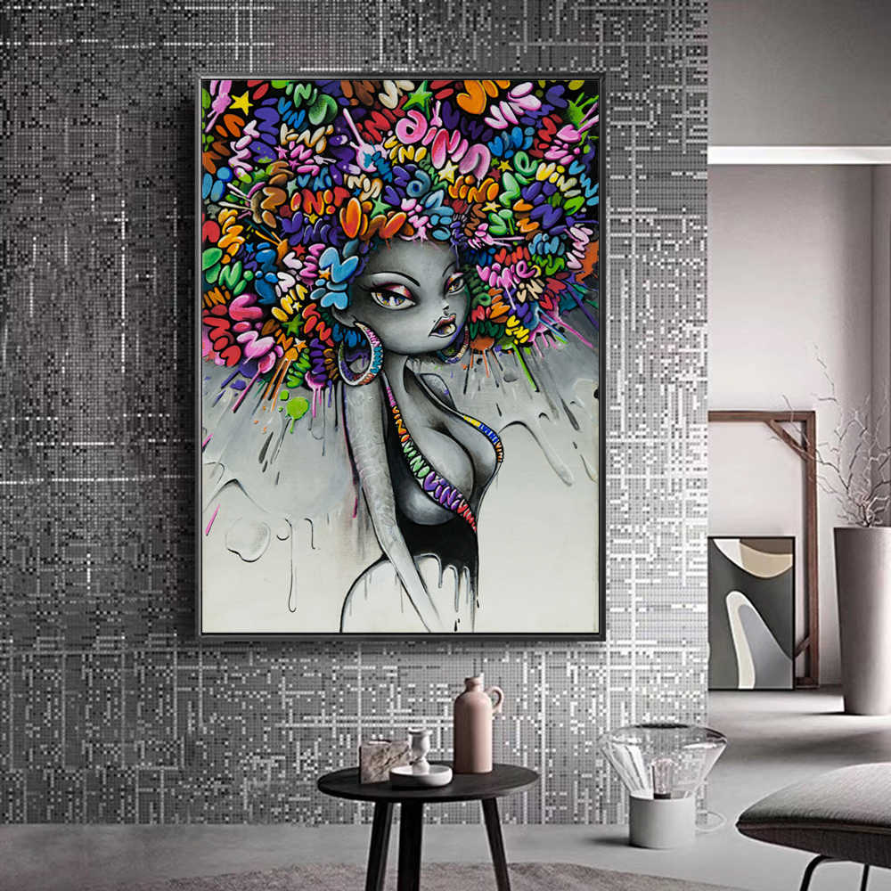 Modern Street Art Wall Pictures For living Room Posters And Prints Graffiti Art Canvas Prints Canvas Paintings Home Wall Decor