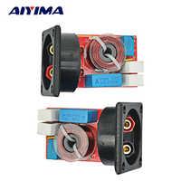 AIYIMA 2 uds filtros cruzados de 2 vías 2 unidades de altavoz Hi-Fi divisor de frecuencia con caja