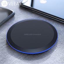 VEEAII 5W Qi Wireless Charger for Samsung Note 9 S8 S9 Edge