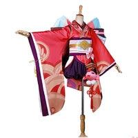 Cosplay Mobile game Onmyoji Kagura Japanese style Cos Clothes