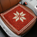 wooden bead car seat cushion car cool cushion breathable monolithic wooden beads cushion Office chair cushion