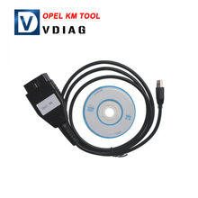 2016 hot selling Opel KM Tool Auto Mileage Correction Tool Opel odometer correction reset tool Free shipping