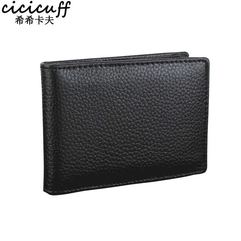 CICICUFF Driver's License Split Cow Leather Cover for Car Driving Documents Business Card Holder Driver's License Case Wallet