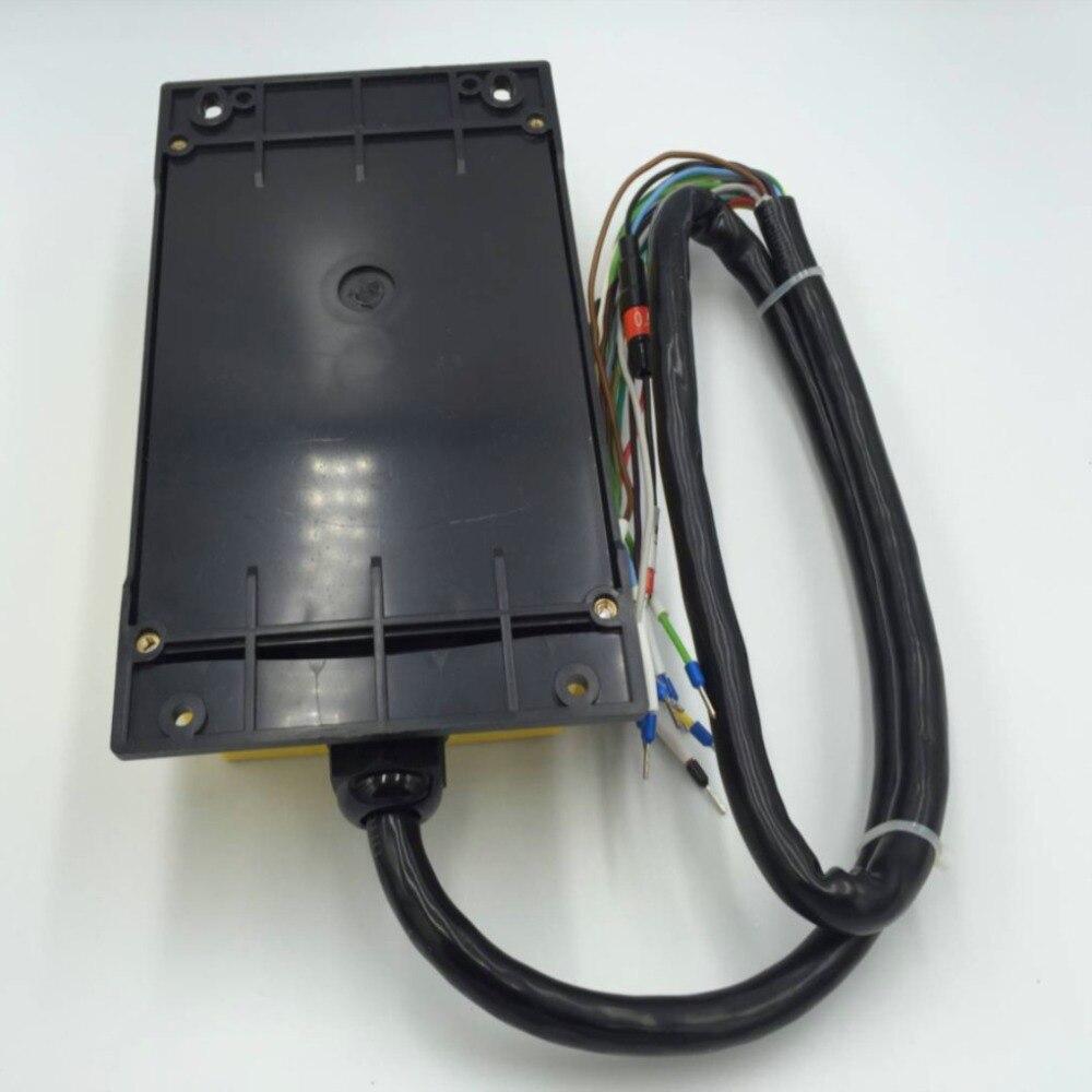 2 スピード 2 トランスミッタ制御ホイストクレーンラジオリモートコントロールプッシュボタンスイッチシステムコントローラ停止  グループ上の ライト & 照明 からの スイッチ の中 3