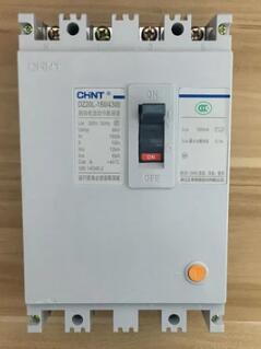 Expédition rapide DZ20L-200/4300 200A 380 V 4 pôles protection contre les fuites ELCB RCD disjoncteur de fuite à la terre courant résiduel