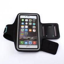 Sport Armband Case Voor Iphone X 8 8Plus 7 6S Bag Voor Running Sport Mobiele Telefoon Houder Reflecterende armband Fitness