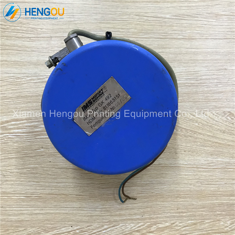 1 Piece DHL Free Shipping Heidelberg Register Motor CPC 81.186.5151 81.186.5151/01 Original Used Motor For SM74 SM102 Machine used good condition c200h id217 with free dhl