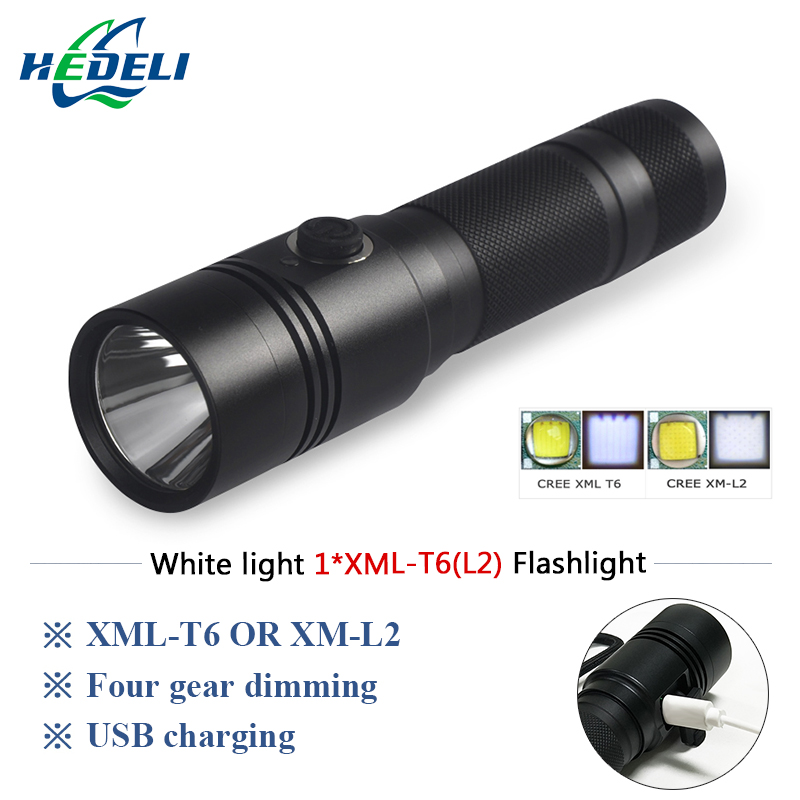 powerful led flashlight cree xml t6 L2 lanterna militar lamp usb charge 18650 battery torch waterpoof Camping outdoor lights