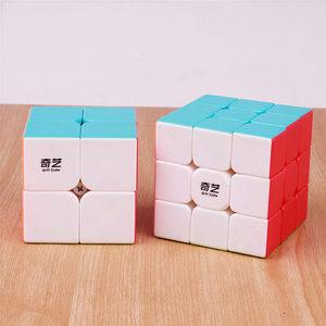 Image 3 - Qiyi Warrior 3X3X3 4X4X4 5X5X5 Magic Cubes Kinderen speelgoed Speed Puzzels Kubus Learning Sticker Minder Magico Speelgoed Pocket Cube 2x2x2