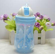 360ml Baby Kids Cute Cup Children Learn Feeding Drinking Water Straw Bottle School Drinking Bottle