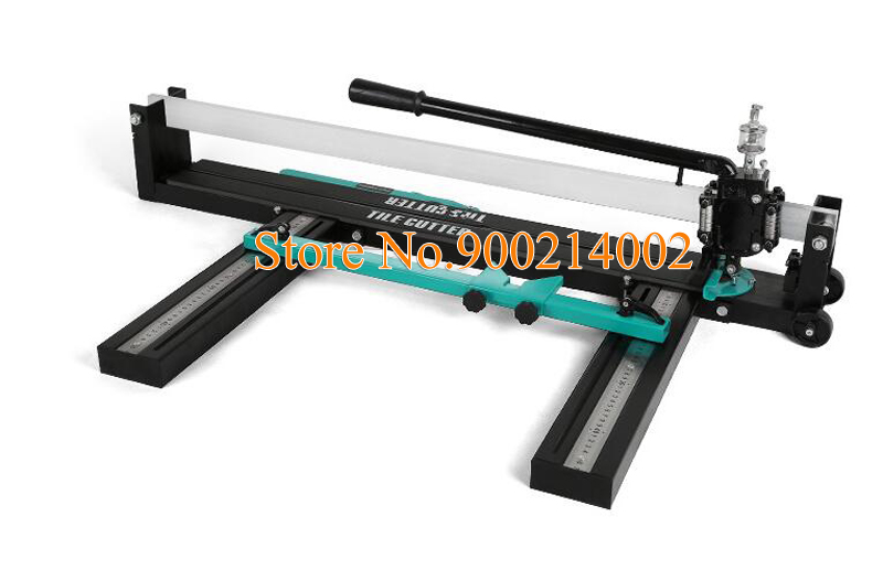 Manual Tile Cutter Ceramic Porcelain Floor Wall Hand Tools Double Rail