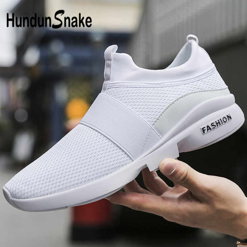 low priced 81868 73938 Hundunsnake Slip-On Mens Sneakers Mens Shoes Sports Shoes Male Running Shoes  For Men Chaussure