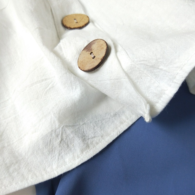 Cotton Linen V-neck Camisole Summer Women Vintage Buttons Cotton Linen Tops Sleeveless Crop Tops 9