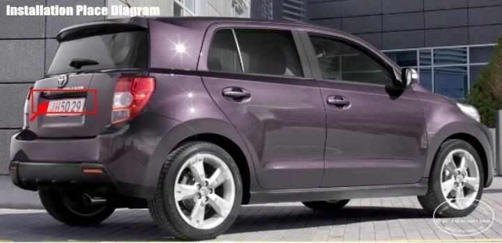 Liislee автомобильная парковочная камера/камера заднего вида для Toyota IST/Urban Cruiser/камера заднего вида/подсветка номерного знака OEM
