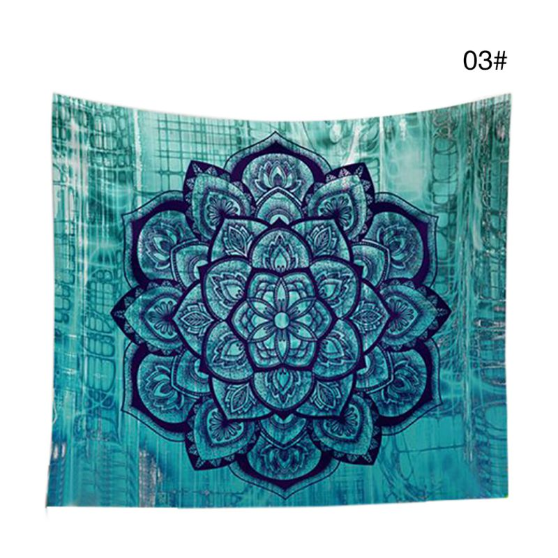 Indian Hippie Mandala Tapestries / Throw Blankets / Covers / Camping / Beach / Picnic