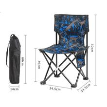 Buy HobbyLane Outdoor Folding Chair Portable Light Fishing Camping Beach Chair Painting Stool Sketch Chair with Telescopic Backrest directly from merchant!