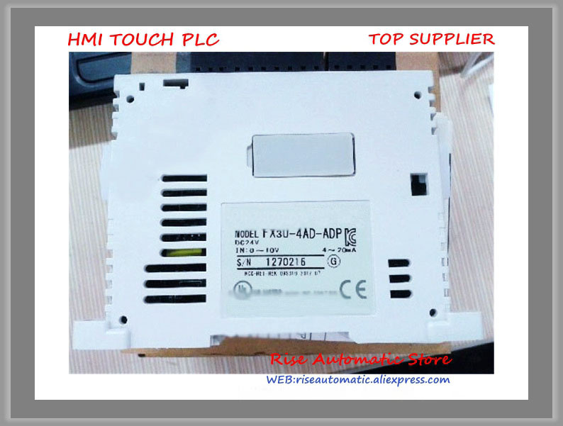 FX3U-4AD-ADP PLC Special Adapter New Original new original fx3uc 4ad plc special function block