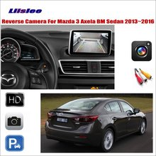 все цены на Liislee For Mazda 3 Mazda3 Axela BM Sedan 2013~2016 Car Reverse Rear Camera / Connect The Original Factory Screen / RCA Adapter онлайн
