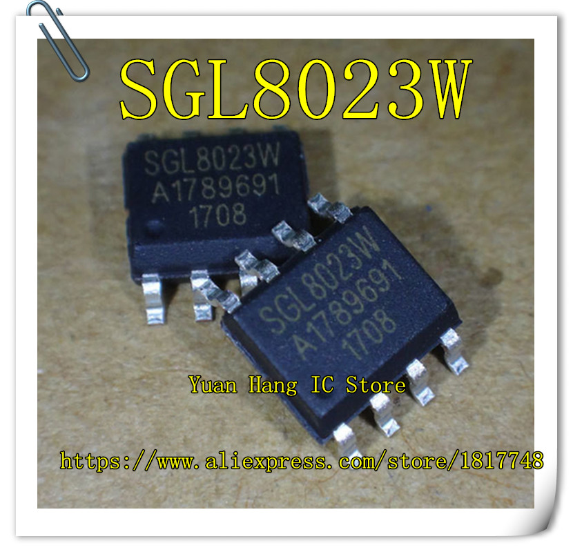 20pcs/lot Sgl8023w Sgl8023 Sop-8 Single Channel Dc Led Light Control Touch Chip New Original Neither Too Hard Nor Too Soft Power Source